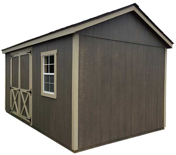 Pro Model Utility Storage Shed | Willow Lake Buildings