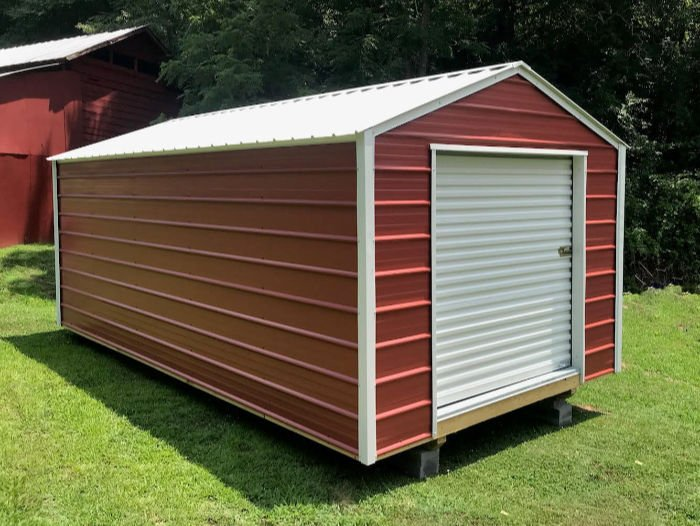 Silverline Model Storage Shed | Willow Lake Buildings