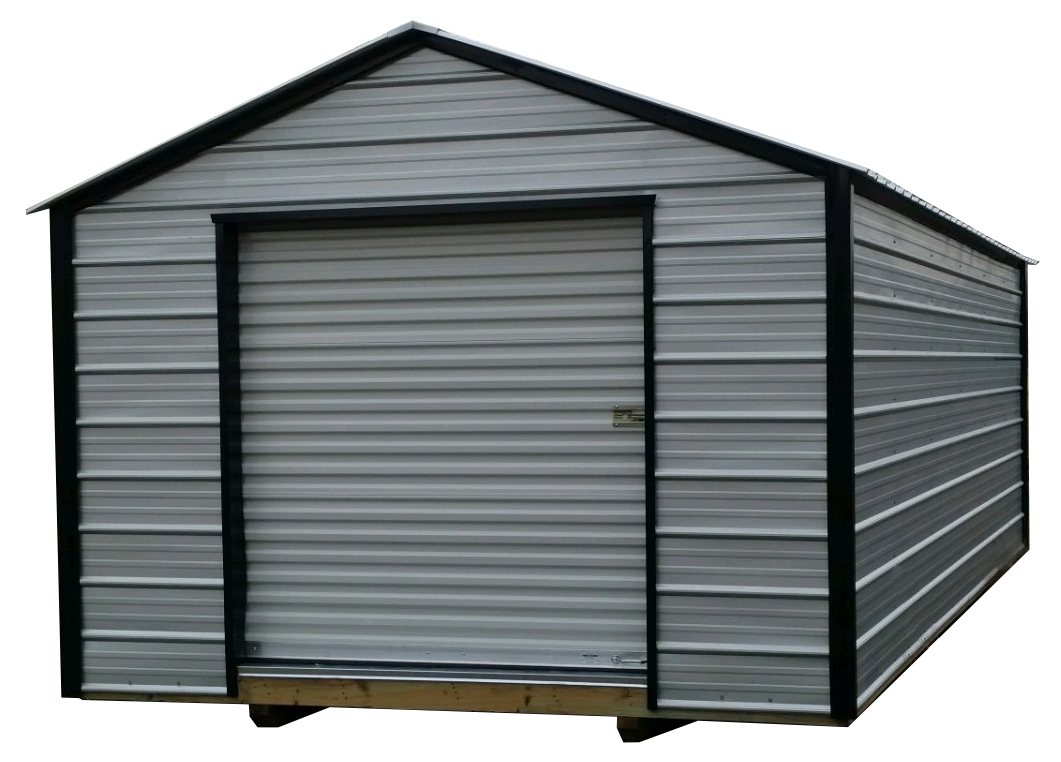 Silverline Model Utility Storage Shed | Willow Lake Buildings